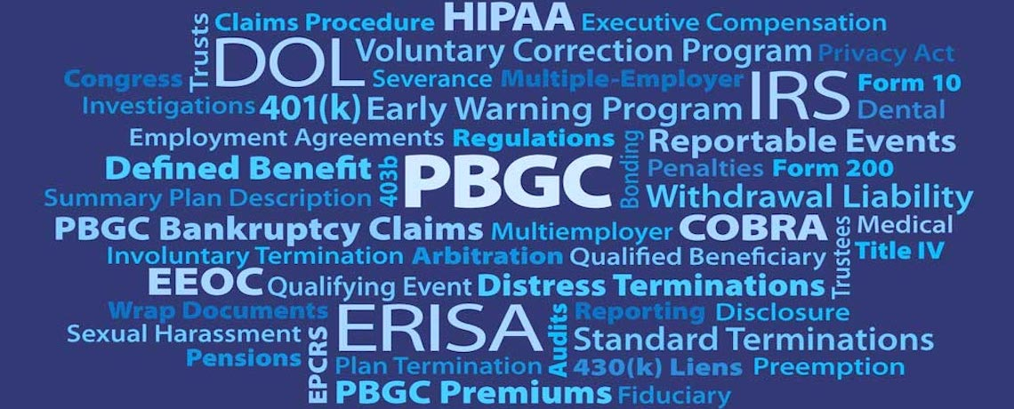 all things PBGC law firm